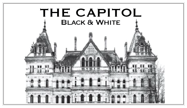 THE CAPITOL – Albany, NY  (Black & White)