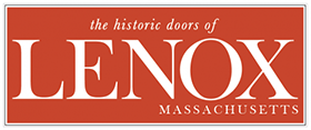 the historic doors of Lenox, MA