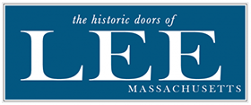 the historic doors of Lee, MA