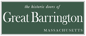 the historic doors of Great Barrington, MA
