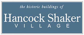 the historic buildings of Hancock Shaker Village