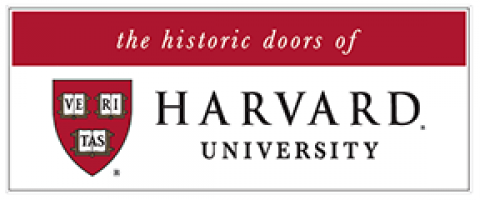 the historic doors of Harvard University