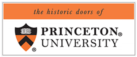 the historic doors of Princeton University