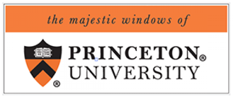 the majestic windows of Princeton University