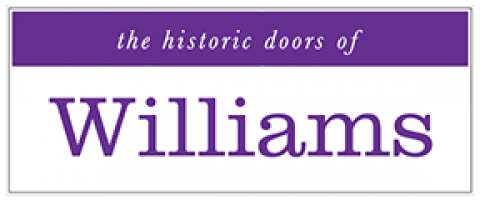 the historic doors of Williams College