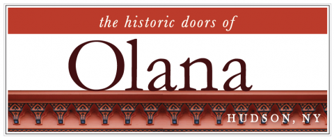 the historic doors of Olana
