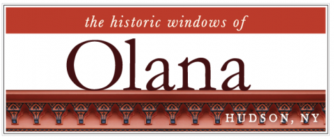 the historic windows of Olana