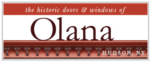 the historic doors & windows of Olana