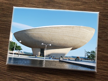 Magnet – Magnet – The Egg (Empire State Plaza) – Albany, NY (HORIZONTAL) – 3