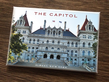 Magnet – THE CAPITOL East View – Albany, NY (HORIZONTAL) – 3