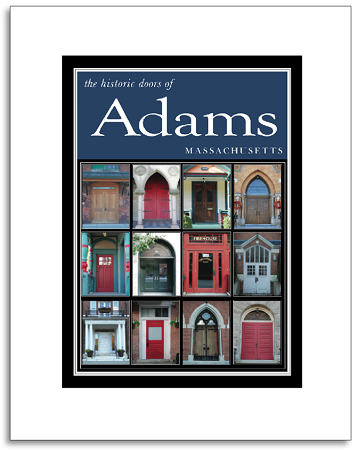 "5"" x 7"" Hand-Signed Print in 8"" x 10"" Double-Matte Historic Adams, MA Doors (VERTICAL)"