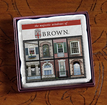 "2"" Brown Majestic Windows Marble Magnet"