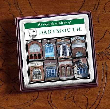 "2"" Dartmouth Majestic Windows Marble Magnet"