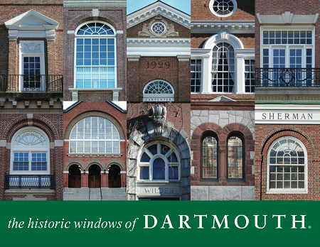 "11"" x 14"" Hand-Signed Print - Dartmouth Majestic Windows (HORIZONTAL)"