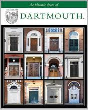 "11"" x 14"" Hand-Signed Print - Historic Dartmouth Doors (VERTICAL)"
