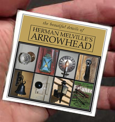 "3"" Herman Melville's ARROWHEAD Beautiful Details Thin Refrigerator Magnet"