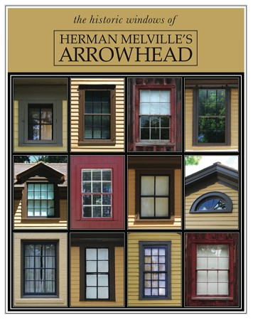 "11"" x 14"" Hand-Signed Print - Herman Melville's ARROWHEAD Historic Windows (VERTICAL)"