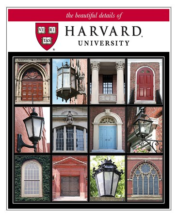 "11"" x 14"" Hand-Signed Print - Harvard Beautiful Details (VERTICAL)"