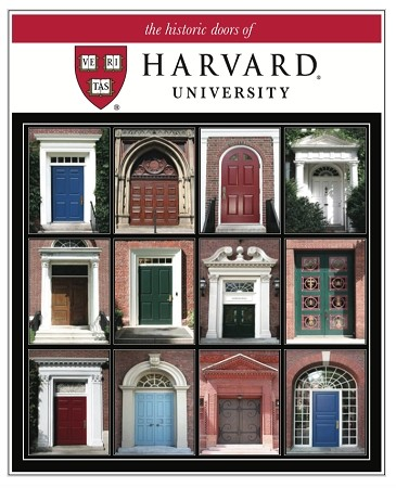 "11"" x 14"" Hand-Signed Print - Historic Harvard Doors  (VERTICAL)"