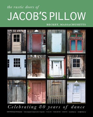 "18"" x 24"" Poster Print - Rustic Jacob's Pillow Doors (VERTICAL)"
