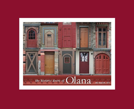 "5"" x 7"" Hand-Signed Print in 8"" x 10"" Double-Matte Historic Olana Doors (HORIZONTAL)"