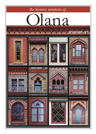"11"" x 14"" Hand-Signed Print - Historic Olana Windows (VERTICAL)"