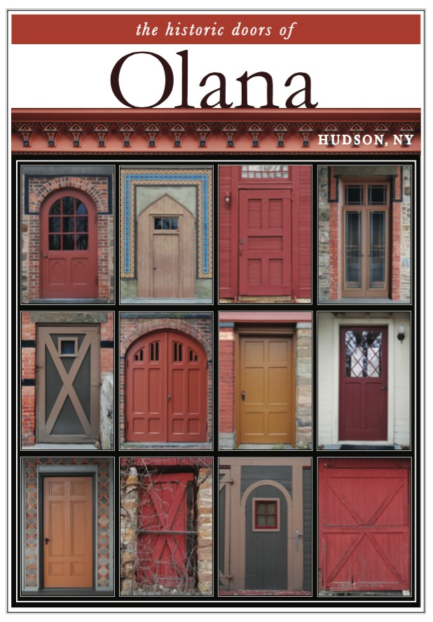 "11"" x 14"" Hand-Signed Print - Historic Olana Doors (VERTICAL)"