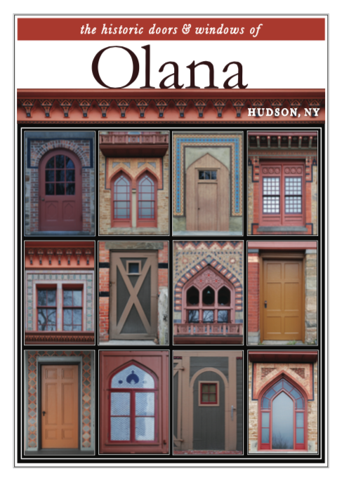 "11"" x 14"" Hand-Signed Print - Historic Olana Doors & Windows (VERTICAL)"