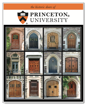 "11"" x 14"" Hand-Signed Print - Historic Princeton Doors  (VERTICAL)"