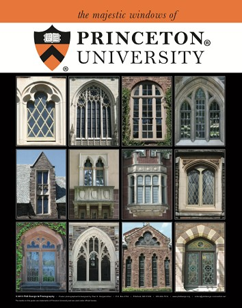 "16"" x 20"" Poster Print - Princeton Majestic Windows (VERTICAL)"