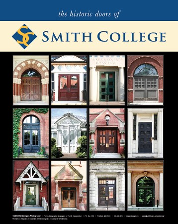 "16"" x 20"" Poster Print - Historic Smith Doors  (VERTICAL)"