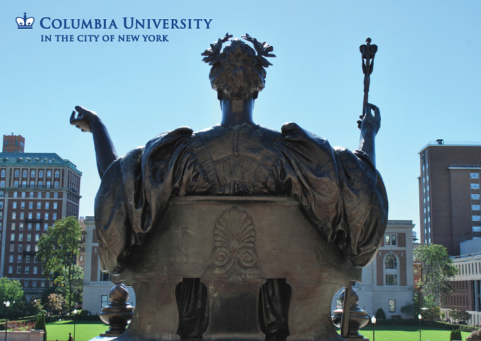 "5"" x 7"" Greeting Card - Columbia – Alma Mater Color"