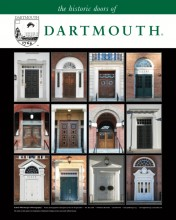 "18"" x 24"" Poster Print - Historic Dartmouth Doors (VERTICAL)"
