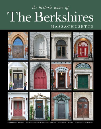 "16"" x 20"" Poster Print - Historic Berkshires Doors (VERTICAL)"