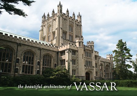 "5"" x 7"" Greeting Card - Vassar Beautiful Architecture  (HORIZONTAL) - Thompson Library"