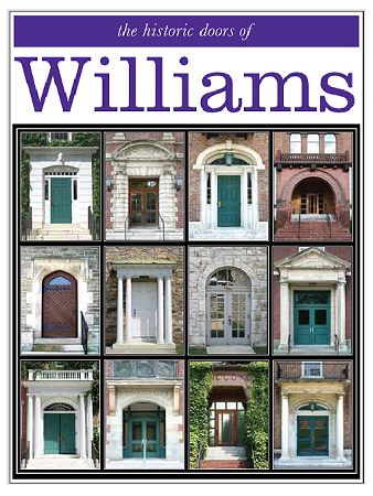 "11"" x 14"" Hand-Signed Print - Historic Williams Doors  (VERTICAL)"