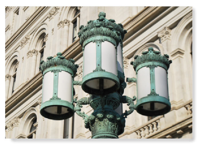 "11"" x 14"" Color Print – the lanterns of THE CAPITOL – Albany, NY (HORIZONTAL)"