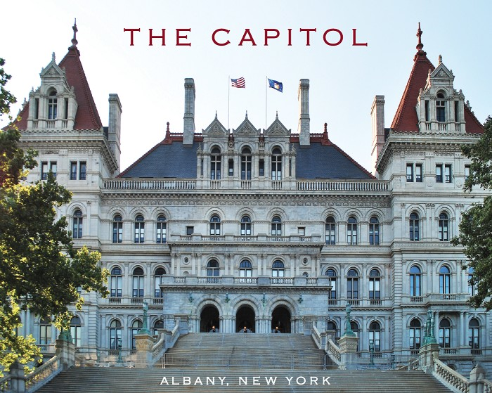 "11"" x 14"" Print – THE CAPITOL East View – Albany, NY (HORIZONTAL)"
