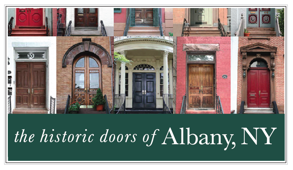 the historic doors of ALBANY, NY