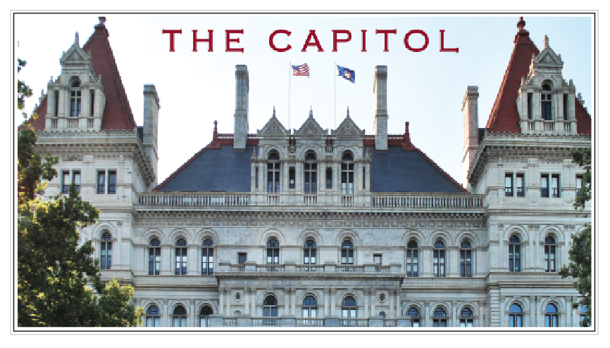 THE CAPITOL East View – Albany, NY (Color)