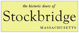 the historic doors of Stockbridge, MA
