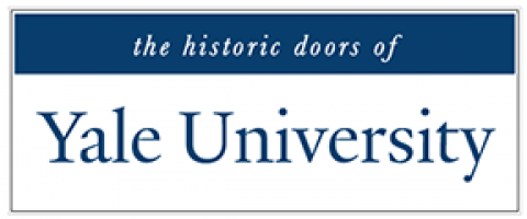 the historic doors of Yale University