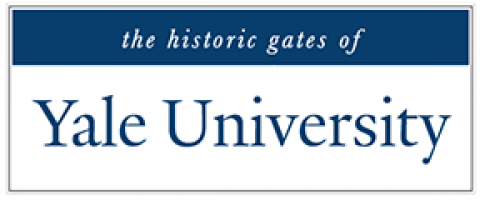 the historic gates of Yale University