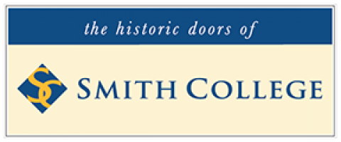 the historic doors of Smith College