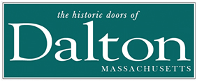 the historic doors of Dalton, MA
