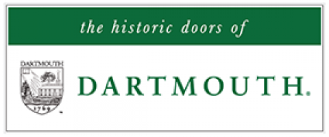 the historic doors of Dartmouth College