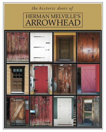 "11"" x 14"" Hand-Signed Print - Herman Melville's ARROWHEAD Historic Doors (VERTICAL)"