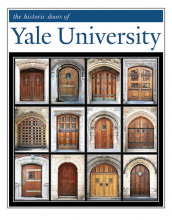 "11"" x 14"" Hand-Signed Print - Historic Yale Doors  (VERTICAL)"