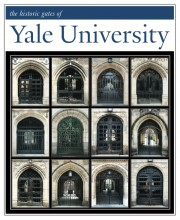 "11"" x 14"" Hand-Signed Print - Historic Yale Gates (VERTICAL)"